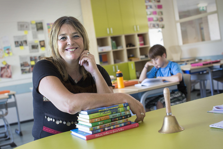 Inge de Bie, Nijmegen. Schrijver kinderboeken foto en copyright: Joost Grol